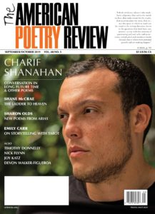 The American Poetry Review – September-October 2019