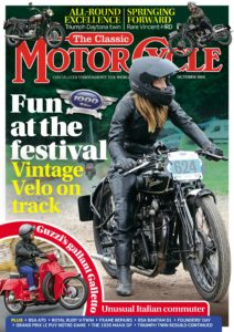 The Classic MotorCycle – October 2019