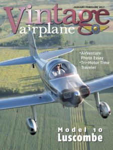 Vintage Airplane – January-February 2017