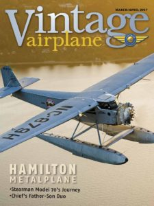 Vintage Airplane – March-April 2017
