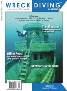Wreck Diving Magazine – May 2019