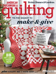 American Patchwork & Quilting – December 2019