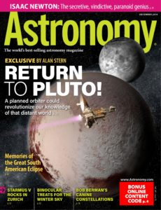 Astronomy – December 2019