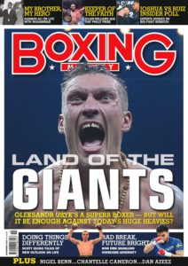 Boxing Monthly – November 2019