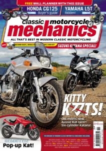 Classic Motorcycle Mechanics – November 2019