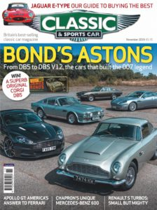 Classic & Sports Car UK – November 2019