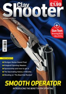 Clay Shooter – November 2019
