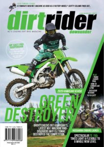 Dirt Rider Downunder – October-November 2019