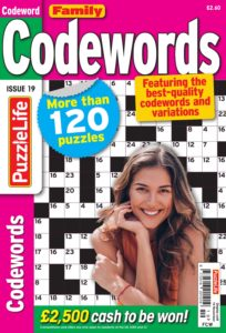 Family Codewords – October 2019