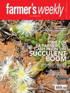 Farmer's Weekly – 18 October 2019