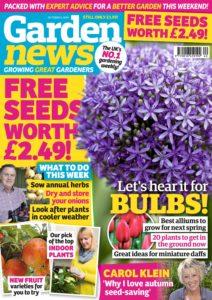 Garden News – 01 October 2019