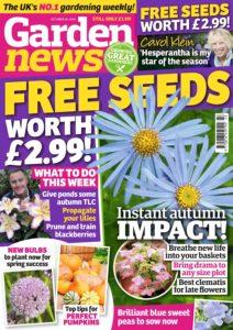 Garden News – 22 October 2019