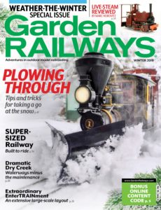 Garden Railways – Winter 2019