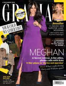 Grazia UK – 29 October 2019