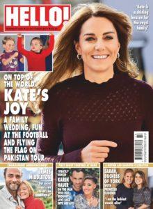 Hello! Magazine UK – 21 October 2019