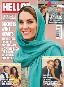 Hello! Magazine UK – 28 October 2019