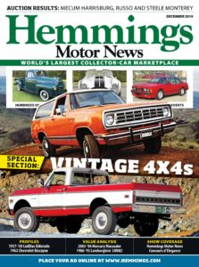 Hemmings Motor News – December 2019