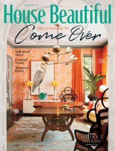 House Beautiful USA – November 2019