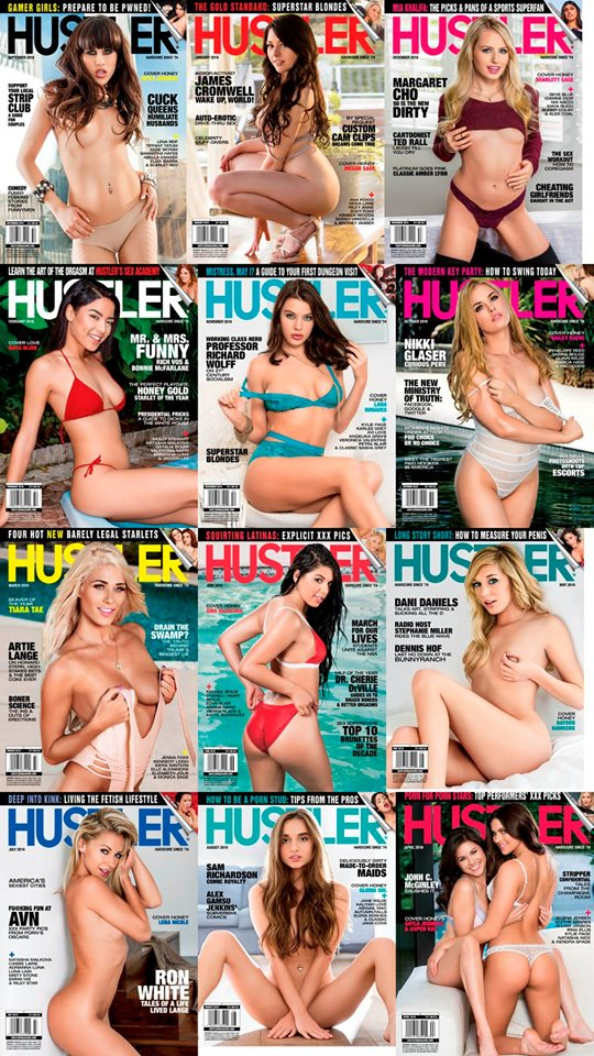 Hustler USA - Full Year 2019 Collection Issues