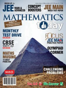 Mathematics Today – November 2019