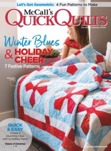 McCall's Quick Quilts – December-January 2019