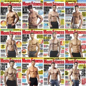 Men's Fitness UK – Full Year 2019 Collection Issues
