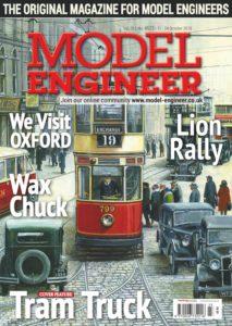 Model Engineer – 11 October 2019