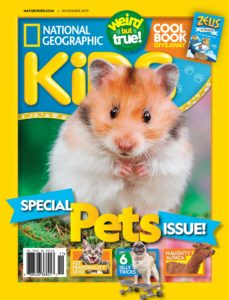 National Geographic Kids USA – November 2019