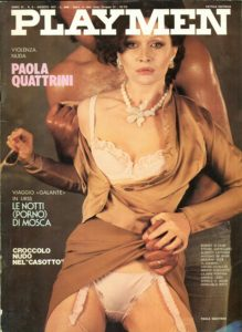 PLAYMEN – August 1977