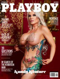 Playboy Australia – October 2019