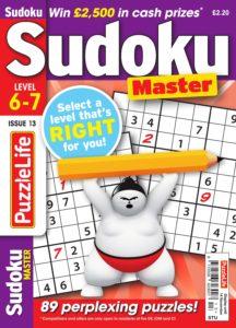 PuzzleLife Sudoku Master – October 2019