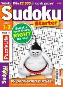 PuzzleLife Sudoku Starter – October 2019