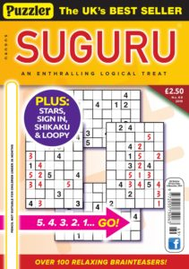 Puzzler Suguru – October 2019