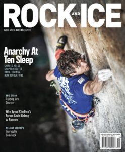 Rock and Ice – October-November 2019