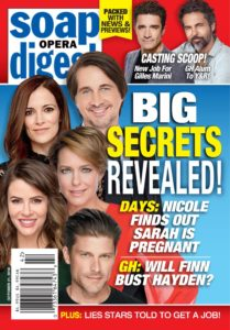 Soap Opera Digest – October 21, 2019