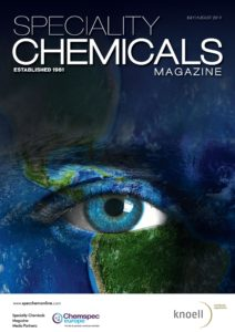 Speciality Chemicals Magazine – July-August 2019