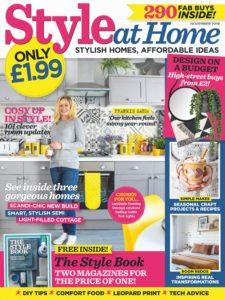 Style at Home UK – November 2019