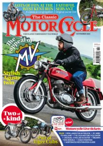 The Classic MotorCycle – November 2019