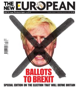 The New European – 31 October 2019