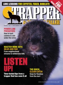 Trapper & Predator Caller – November 2019