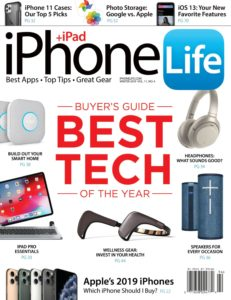 iPhone Life Magazine – Winter 2019