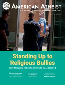 American Atheist – July-October 2019