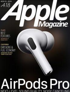 AppleMagazine – November 01, 2019