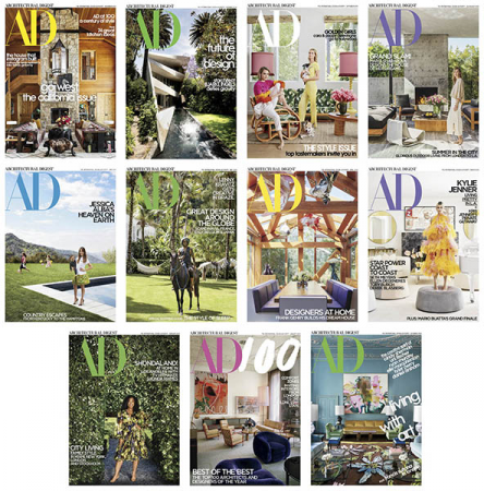 Architectural Digest USA – 2019 Full Year Collection