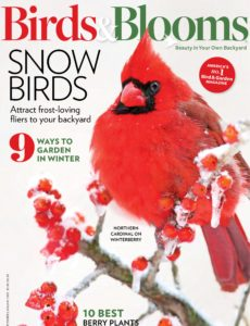 Birds & Blooms – December-January 2020