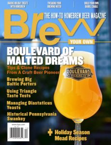 Brew Your Own – December 2019