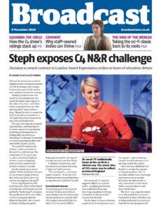 Broadcast Magazine – 08 November 2019