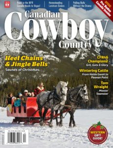Canadian Cowboy Country – December 2019 – January 2020