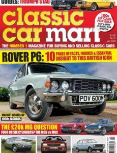 Classic Car Mart – January 2020