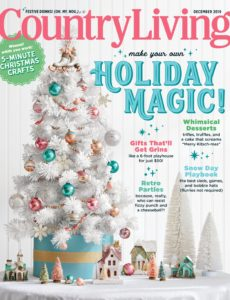 Country Living USA – December 2019